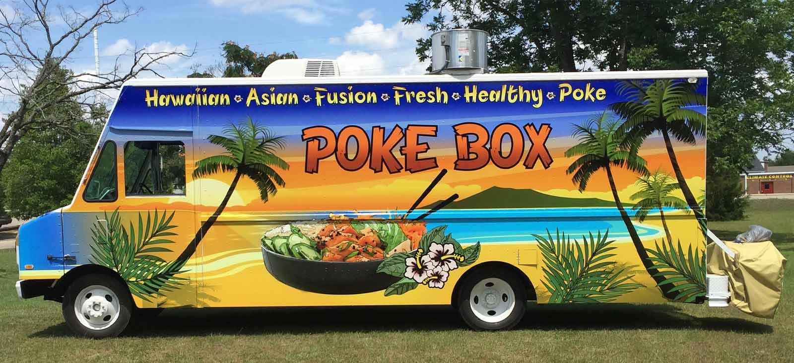 Vinyl Food Truck Wraps | Image Graphics - Fayetteville